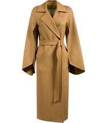 max mara belt-tie long coat