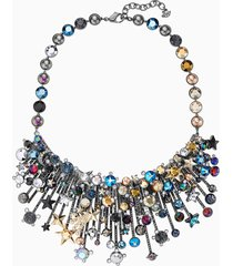 collana nocturnal sky, multicolore, mix di placcature