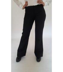 pantalón negro brooksfield isabella liso