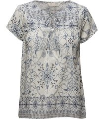 backb blouse blouses short-sleeved blauw odd molly