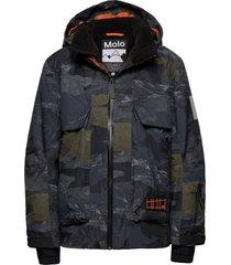 alpine outerwear snow/ski clothing snow/ski jacket zwart molo