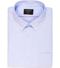 camisa thompson manga larga color siete para hombre - azul