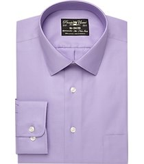 pronto uomo lavender queen's oxford modern fit dress shirt