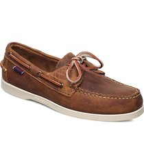 docksides crazy h båtskor skor brun sebago