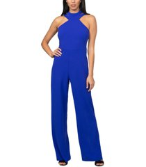 bebe juniors' choker jumpsuit