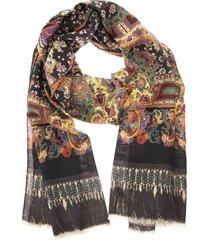 etro delhy- paisley cashmere scarf