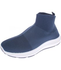 zapatilla azul oscuro bbo