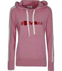 diva embroidered hoodie