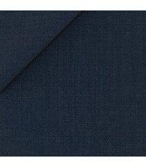pantaloni da uomo su misura, reda, blu micropuntino, quattro stagioni