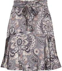 head turner skirt knälång kjol multi/mönstrad odd molly