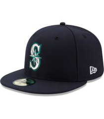 new era kids' seattle mariners authentic collection 59fifty cap