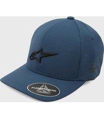 gorra azul-negro alpinestars angless velo
