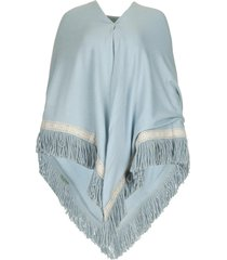 poncho harper  blauw