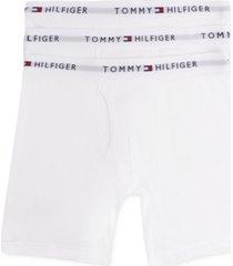 tommy hilfiger men's cotton boxer brief 3-pack