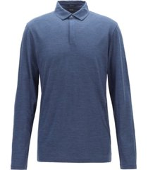 boss men's long-sleeved polo shirt