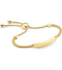 gold baja deco id bracelet