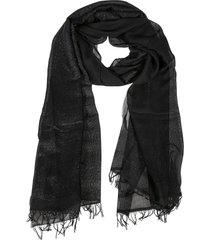 fabiana filippi fringed edge scarf