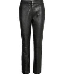 2nd avon leather leggings/byxor svart 2ndday