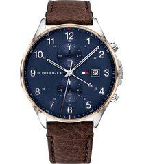 reloj marrón tommy hilfiger 1791712 - superbrands