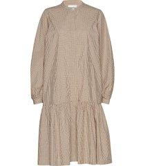 jang ls dress jurk knielengte beige second female