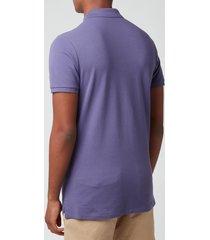 polo ralph lauren men's mesh polo shirt - juneberry - xxl