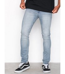 cheap monday tight stonewash blue jeans denim blå