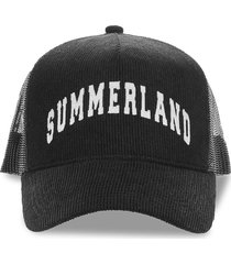 summerland corduroy and mesh cap
