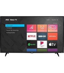 "smart tv aoc 32"", hd led 32s5195/78g, wi-fi integrado"
