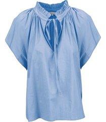 due amanti alice blouse lichtblauw