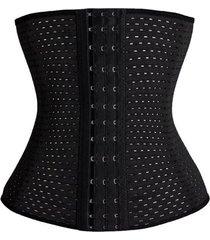 la mujer adelgaza corset cintura trainer cincher body shaper barriga correa de mando