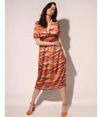 vestido naranja prussia lynn
