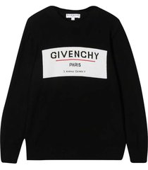 givenchy crewneck sweater with jacquard effect