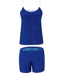 short doll any any jersey azul