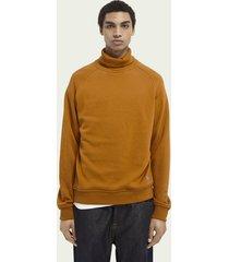 scotch & soda zachte sweater met hoge hals