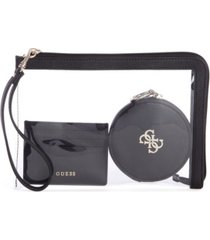 guess vanetta 3 in 1 wristlet set