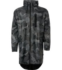 rains fishtail parka - night camo 1214