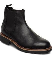 bruce shoes chelsea boots svart vagabond