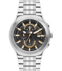 relógio touch unissex premium bicolor twos10aa/3p twos10aa/3p