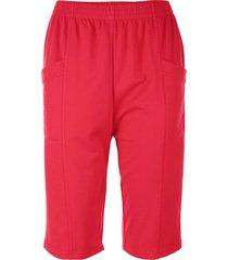 mjuka shorts med midjeresår paola röd