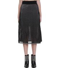 balmain skirt in black cotton