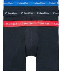 calvin klein 3 pack cotton stretch boxer brief | multi | 1770a-m9x
