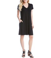 women's karen kane quinn pocket shift dress