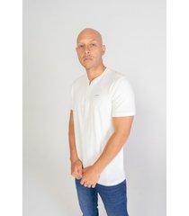 camiseta pompilio slim cremallera con cuello neru