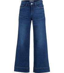 jeans culotte elasticizzati ultra morbidi (blu) - john baner jeanswear