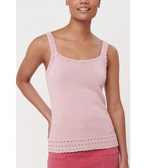 loft crochet sweater tank