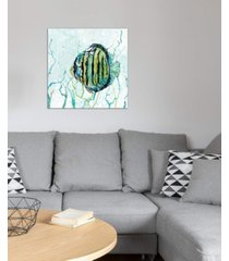 """icanvas """"outer banks swim"""" by carol robinson gallery-wrapped canvas print"""