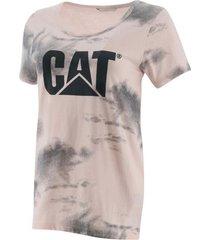 camiseta caterpillar mujer rosado 2511388-x5p