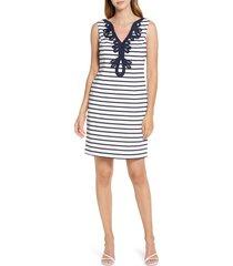 women's eliza j stripe sheath dress