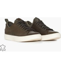polo ralph lauren dunovin sneakers sneakers olive