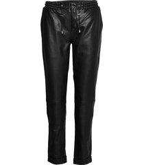 50168 pantalon met rechte pijpen zwart depeche